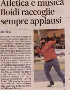 Atletica e Musica Boidi raccoglie sempre applausi